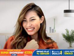 Patricia Gouw Bagikan Tips Cuan Maksimal di Promo Puncak 9.9 Super ShopeePay Deals