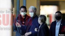Bill Clinton Diperbolehkan Pulang dari RS California Selatan