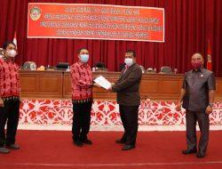 Fraksi di DPRD Landak sampaikan PU  Raperda Sistem Pengelolaan Air Limbah Domestik