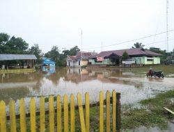 Ketinggian Banjir di Serawai Sintang Berangsur Berkurang, Golda: Jatah Bantuan Beras Masih 100 Ton