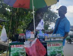 Masa Sulit Sepanjang Pandemi, Penjual Baju Banting Setir Jadi Pedagang Es Dawet