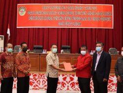 Bupati Landak Sampaikan Raperda Sistem Pengelolaan Air Limbah Domestik ke DPRD Landak