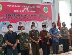 Bupati Melawi Ajak Jaga Kerukunan Umat Beragama di Kabupaten Melawi