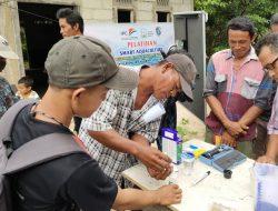 100 Hari Sudah Panen, Nelayan Juluk Sungkur di Sungai Kunyit Praktik Budidaya Udang Vannamei